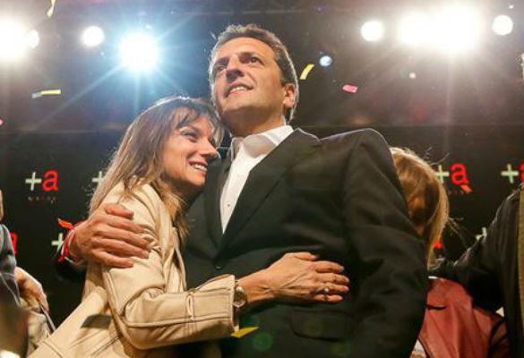 Sergio Massa suspendió su campaña luego de que internaran de urgencia a su esposa, Malena Galmarini