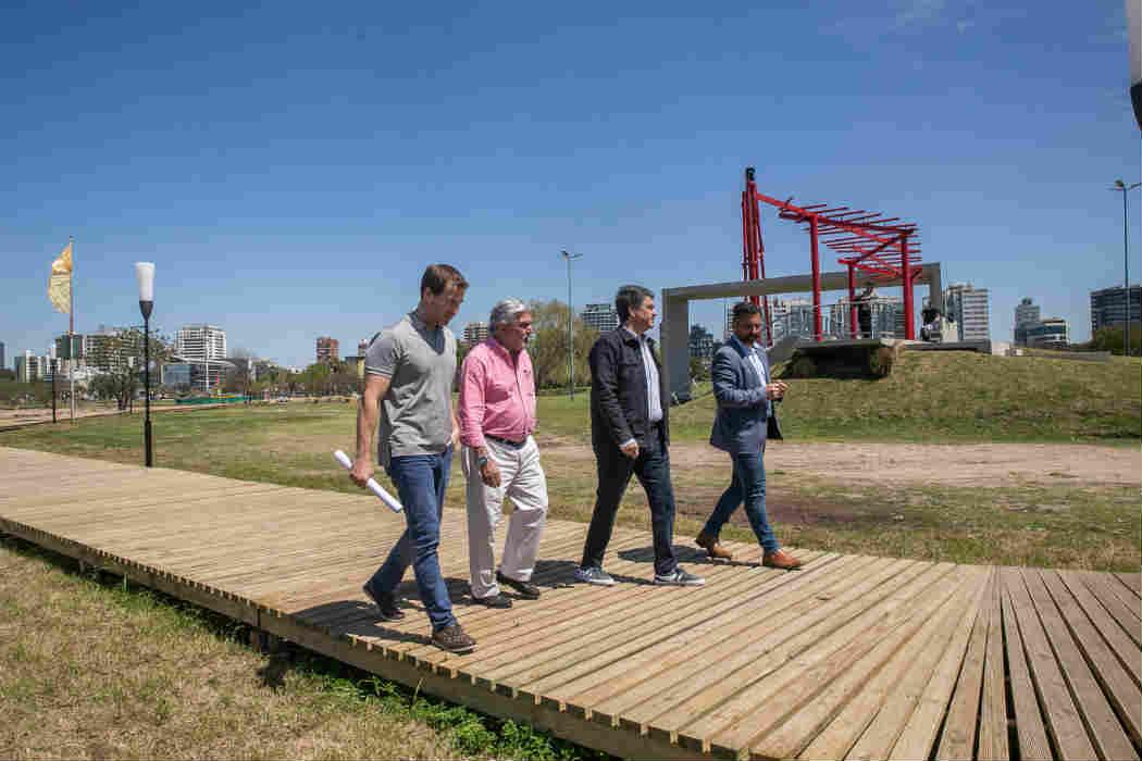 El Paseo de la Costa recupera espacio público y continúa evolucionando