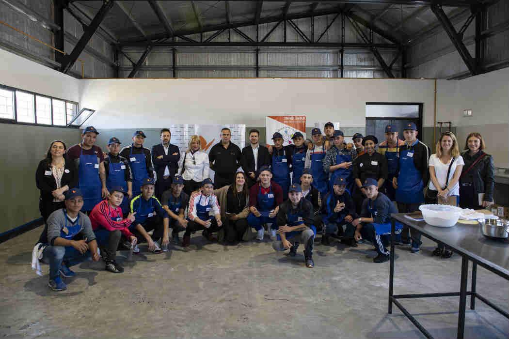 Naturgy lanzó un módulo de Energía del Sabor para jóvenes de la Unidad Penitenciaria N°57 de Campana