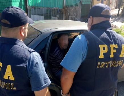 Detienes en Don Torcuato a prófugo con solicitud de captura internacional