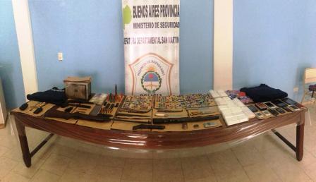 Era buscado por un crimen y por liderar banda que vendía drogas y fue detenido en San Martín