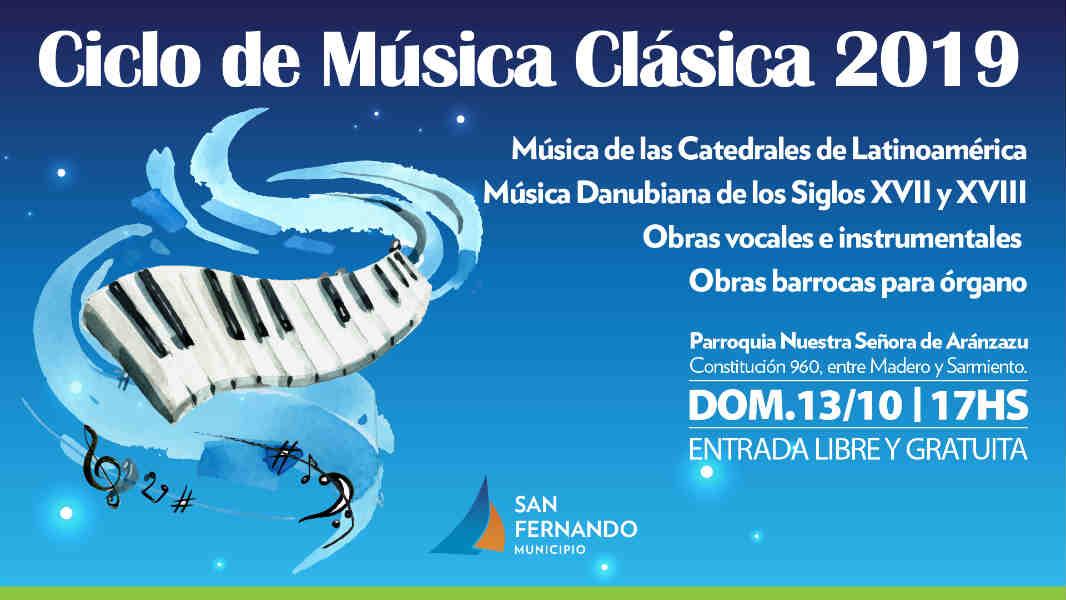 Nueva edición del Ciclo de Música Clásica en la Parroquia Aránzazu de San Fernando
