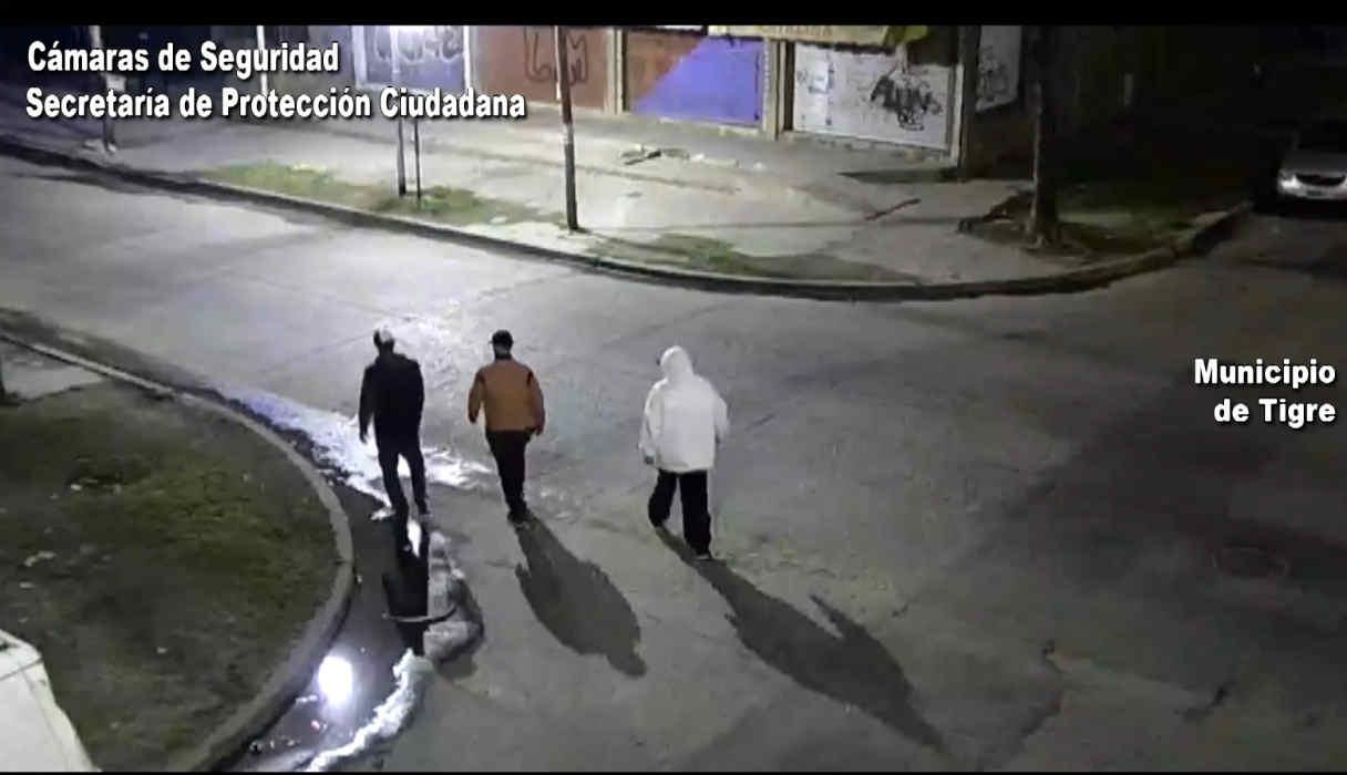 Rincón de Milberg: violento asalto frustrado gracias a las cámaras del COT