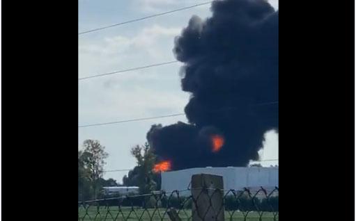 Importante incendio en una Fábrica de Benavidez
