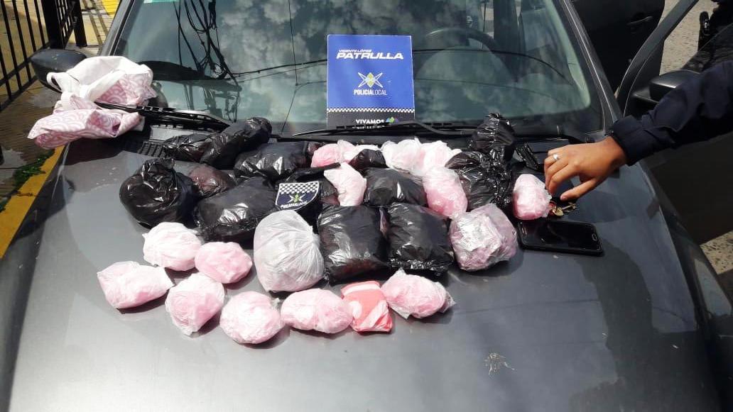Dos detenidos en Villa Martelli con 1600 dosis de droga