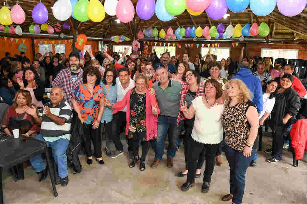 San Fernando celebró del Día del Auxiliar en el Polideportivo 3