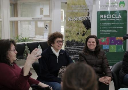 Vicente López lanzó el programa de compostaje domiciliario