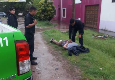 Tras enfrentamiento armado, detuvieron a delincuente que participó del asalto a un banco de Quilmes