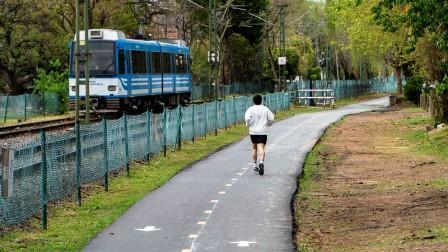 Avanza la puesta en valor de la senda aeróbica del Bajo San Isidro