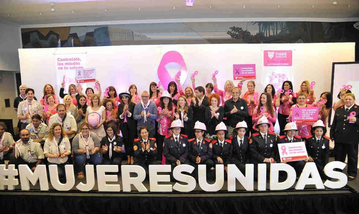 Tigre realizó un encuentro de concientización por el Día Mundial de la Lucha contra el Cáncer de Mama