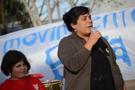 Milca Sosa pide cumplir con la paridad de género en el HCD de Tigre