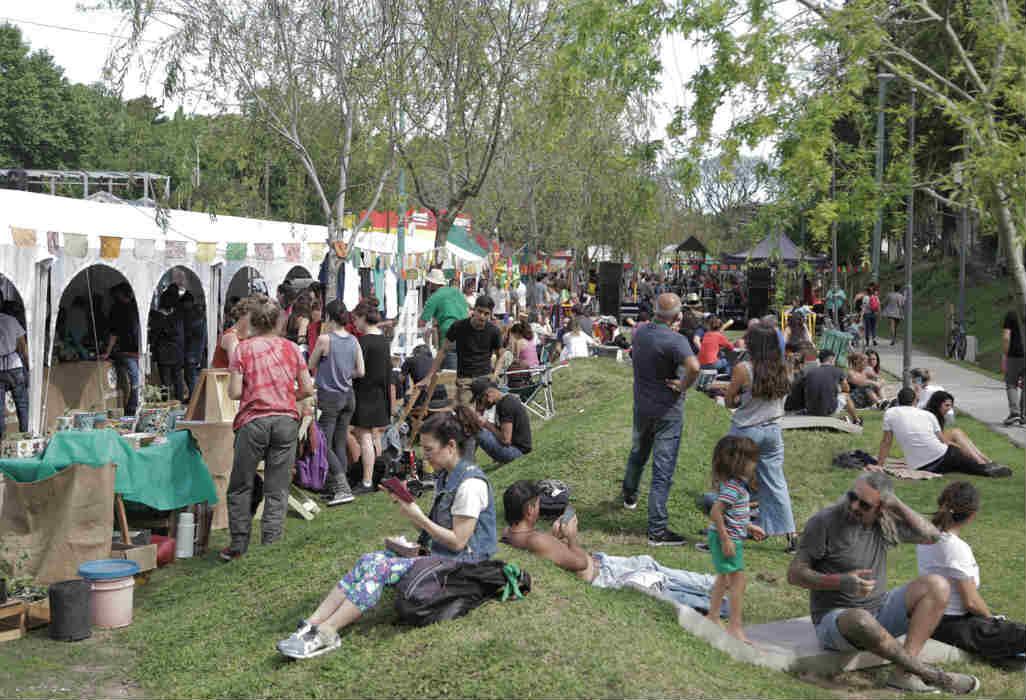 Jorge Macri celebró con Sabe la Tierra la puesta en valor de la plaza Amigos de Florida