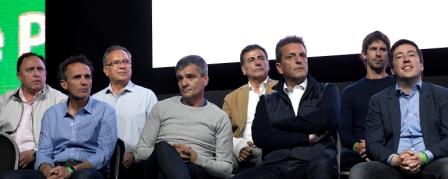 """Rubén Eslaiman: """"el domingo vamos a llenar las urnas de esperanza y a poner a la argentina de pie"""""""