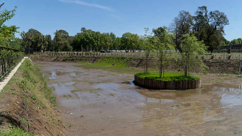 El municipio sumó un nuevo reservorio en Las Lomas de San Isidro