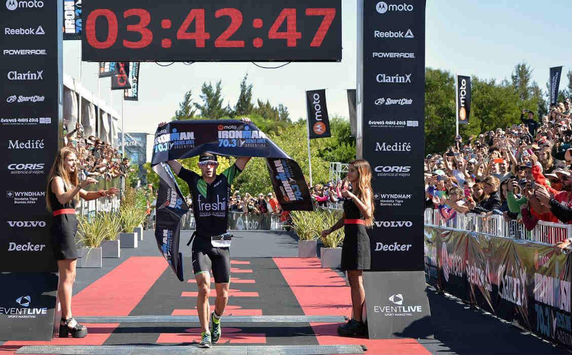 Llega a Tigre el Ironman 70.3 South American Championship por cuarto año consecutivo