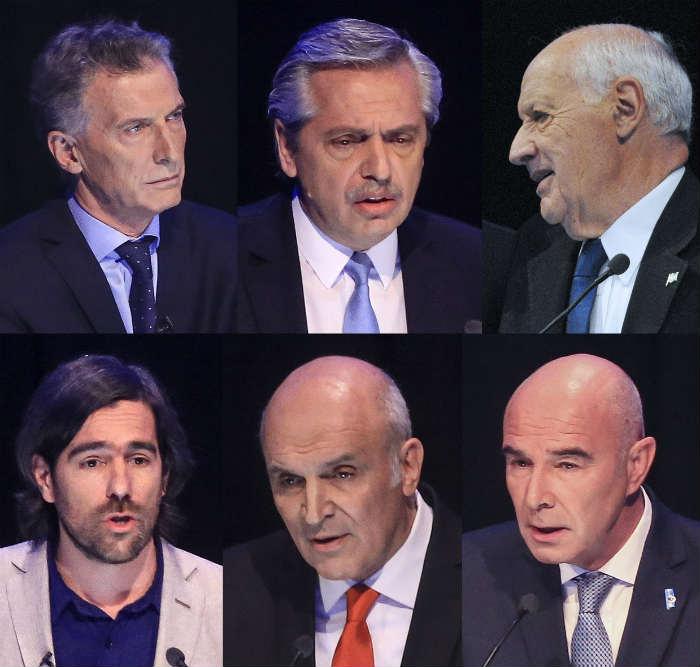 Candidatos presidenciales 2019