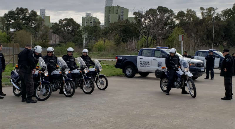 San Isidro capacita al personal del patrullaje municipal