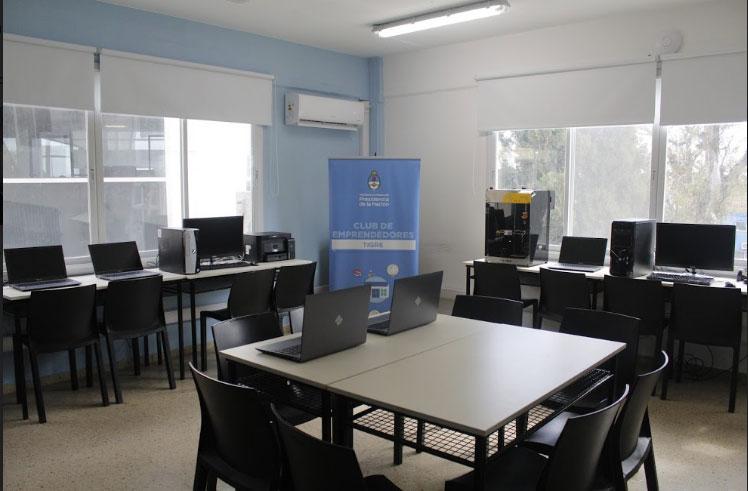 Nuevo equipamiento tecnológico para el Club de Emprendedores de Tigre
