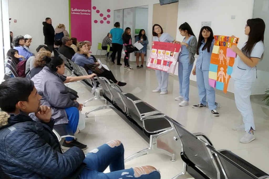 San Fernando brindó un taller sobre el consumo responsable de alcohol