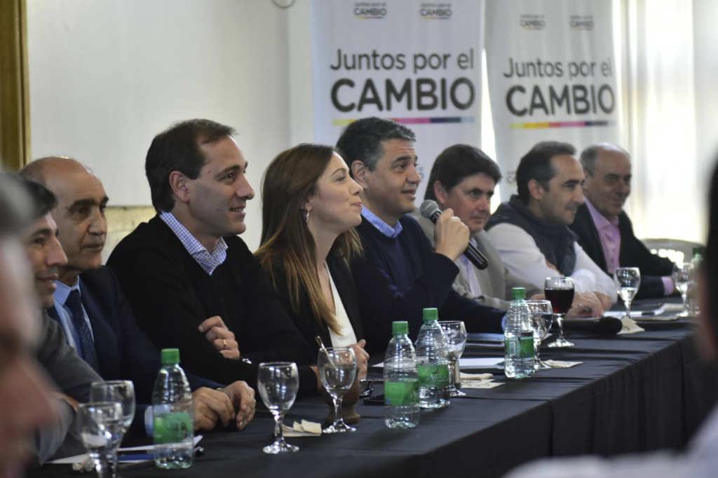 Jorge Macri y Julio Garro organizaron el Foro de Juntos por el Cambio en La Plata