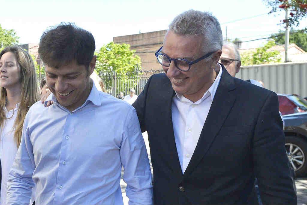 Julio Zamora recibió a Kicillof en Tigre