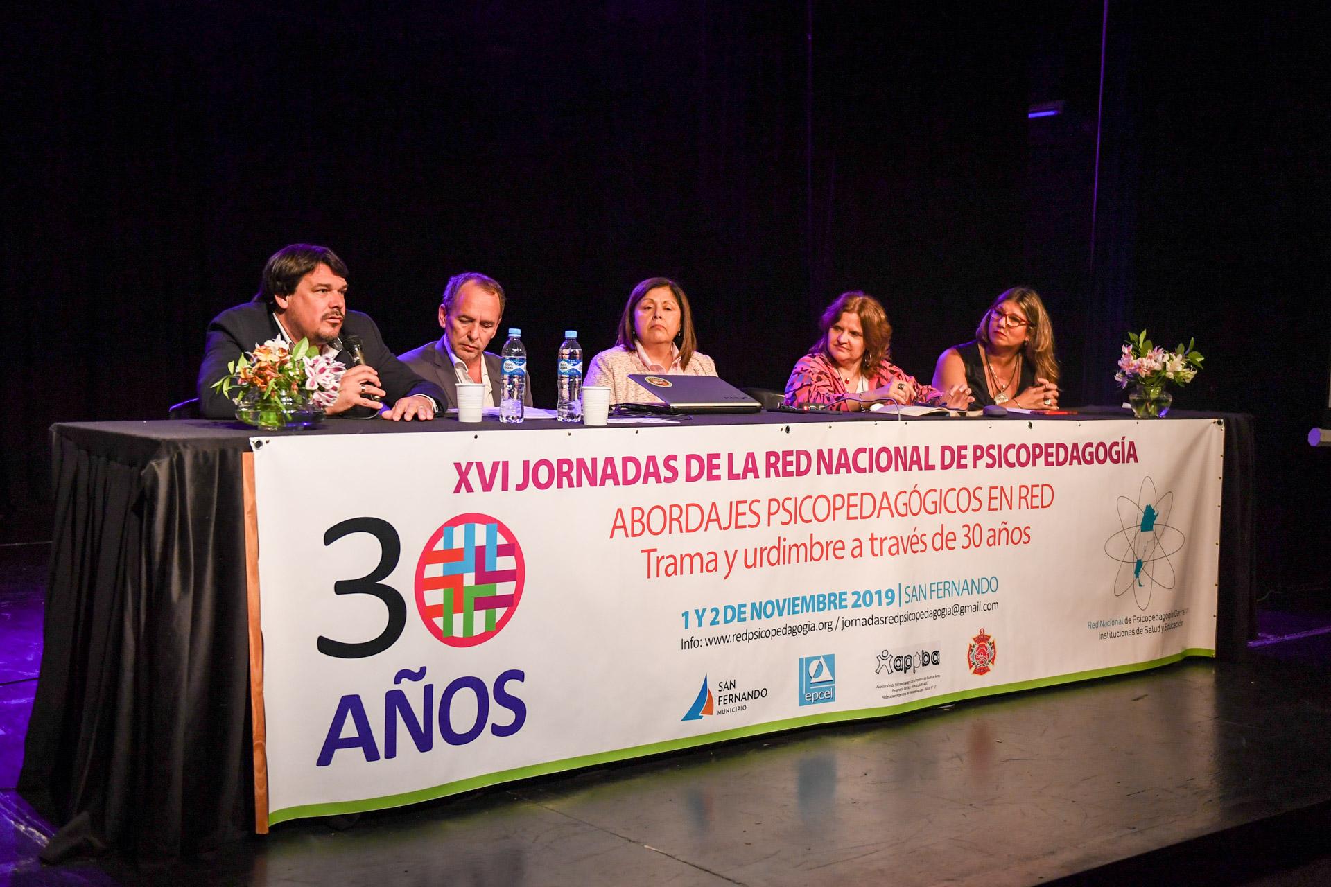 San Fernando es sede de la XVI Jornada de la Red Nacional de Psicopedagogía en su 30º aniversario
