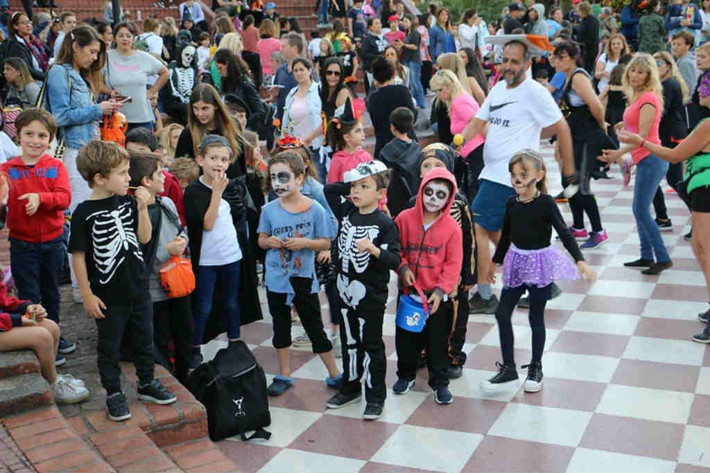 San Isidro celebró Halloween