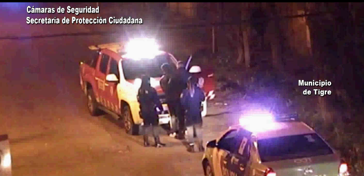 Robó objetos de un auto en Pacheco y fue rápidamente interceptado gracias a las cámaras de Tigre