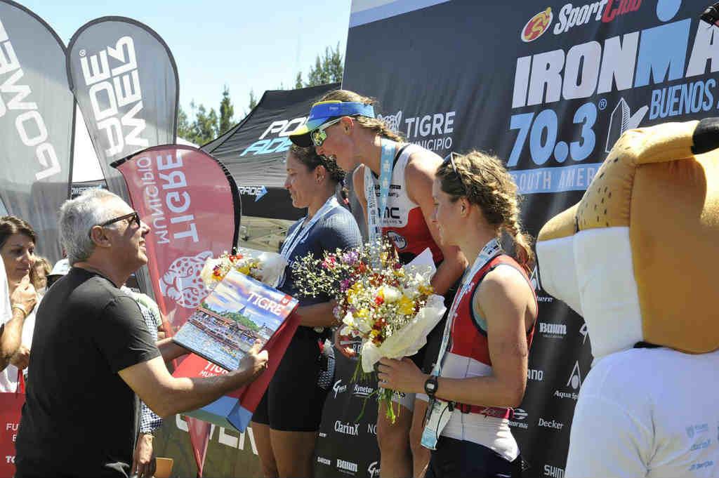 Tigre recibió a la cuarta edición del Ironman 70.3 Buenos Aires South American Championship
