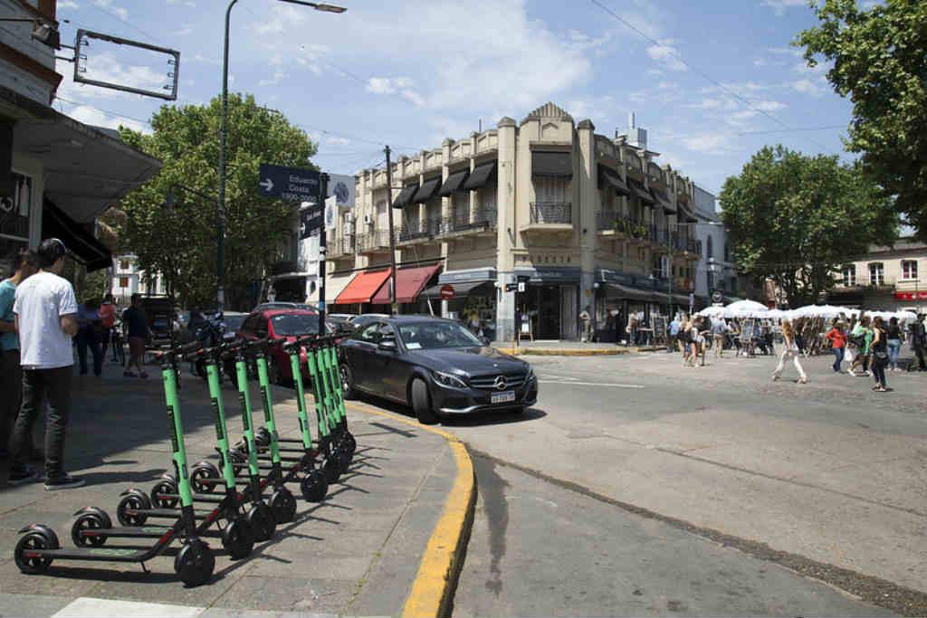 Comenzó a funcionar el servicio de  monopatines eléctricos en San Isidro