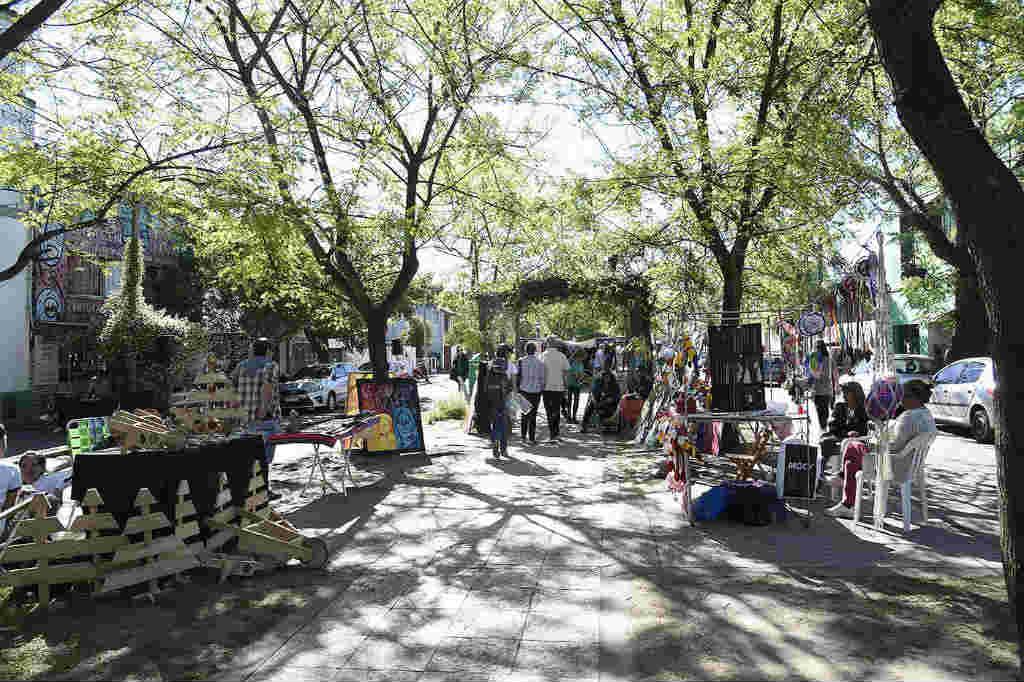 Tigre festejó Día del Isleño en el Boulevard Sáenz Peña