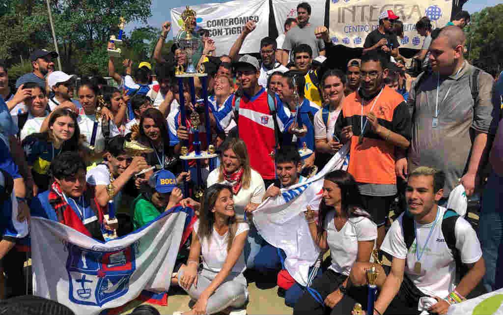 Malena Galmarini cerró en Tigre el programa de deporte inclusivo