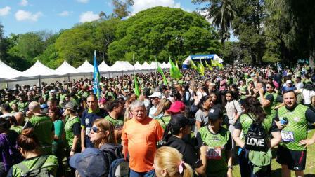 """25.000 personas asistieron a la carrera de aventura """"Juan Vucetich"""""""