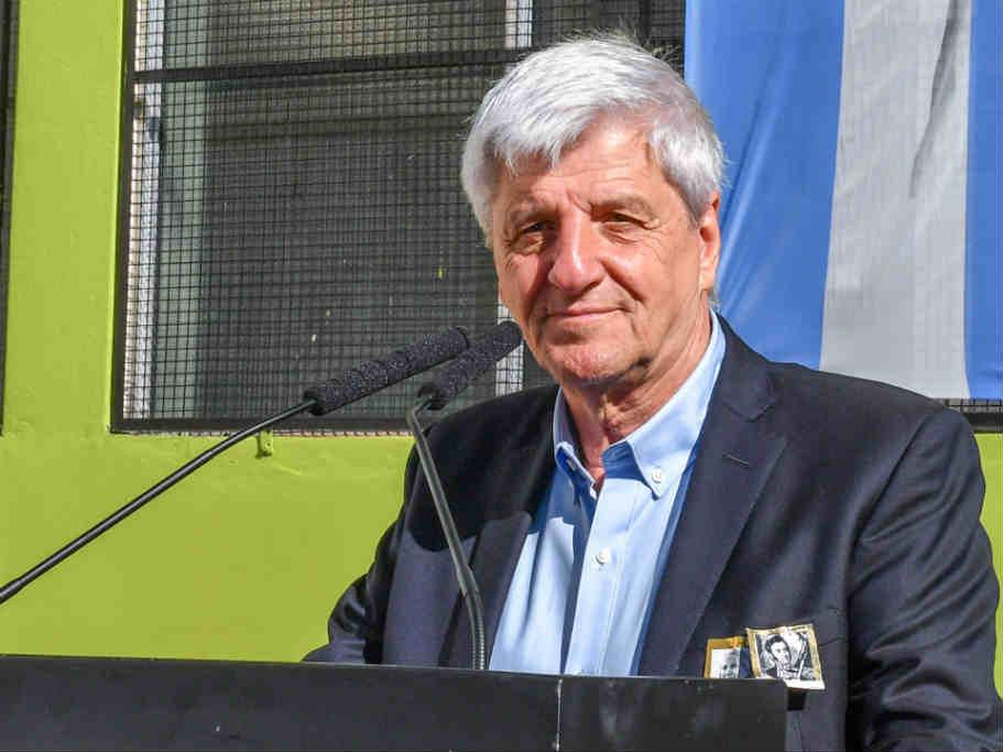 Luis Andreotti repudió el golpe de estado en Bolivia