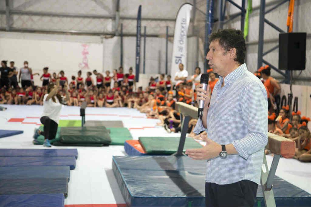 San Isidro realizó la Gala Anual de Gimnasia Artística