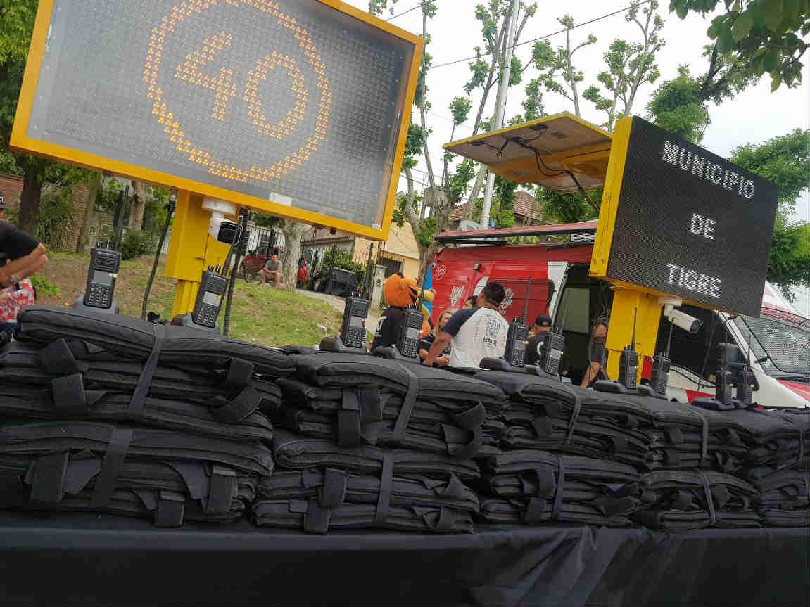 Tigre presentó nuevos móviles y equipamiento para el COT