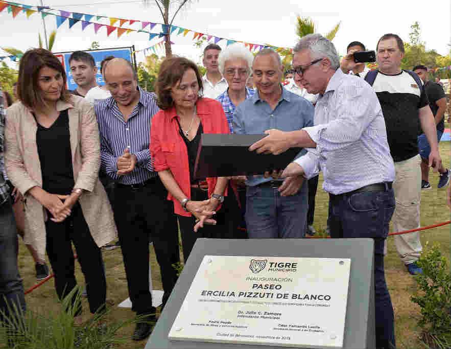 Julio Zamora inauguró en Benavídez el espacio renovado N°52