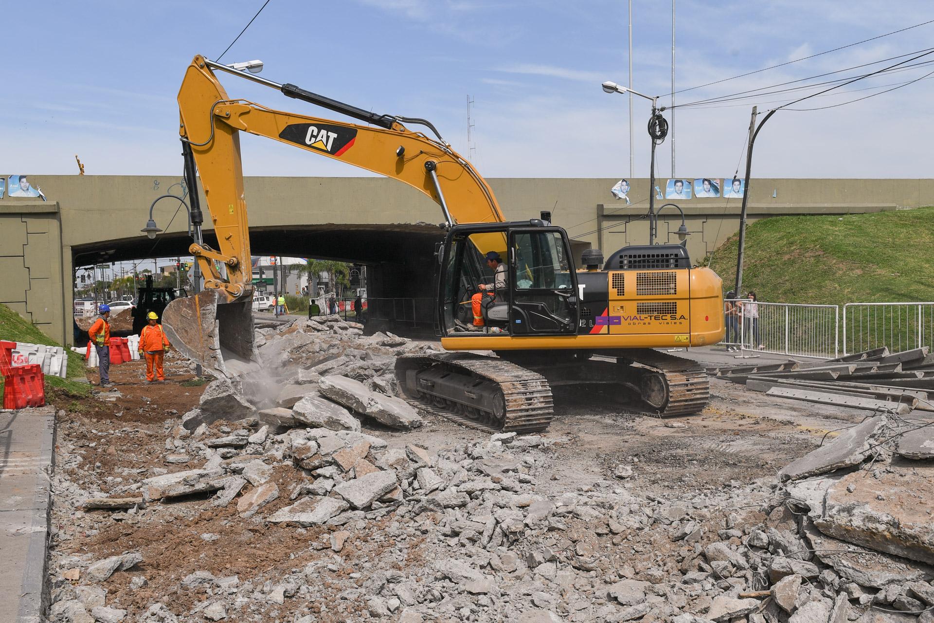 Por obras en Acceso Norte y Avellaneda, el Municipio de San Fernando reorienta el tr醤sito