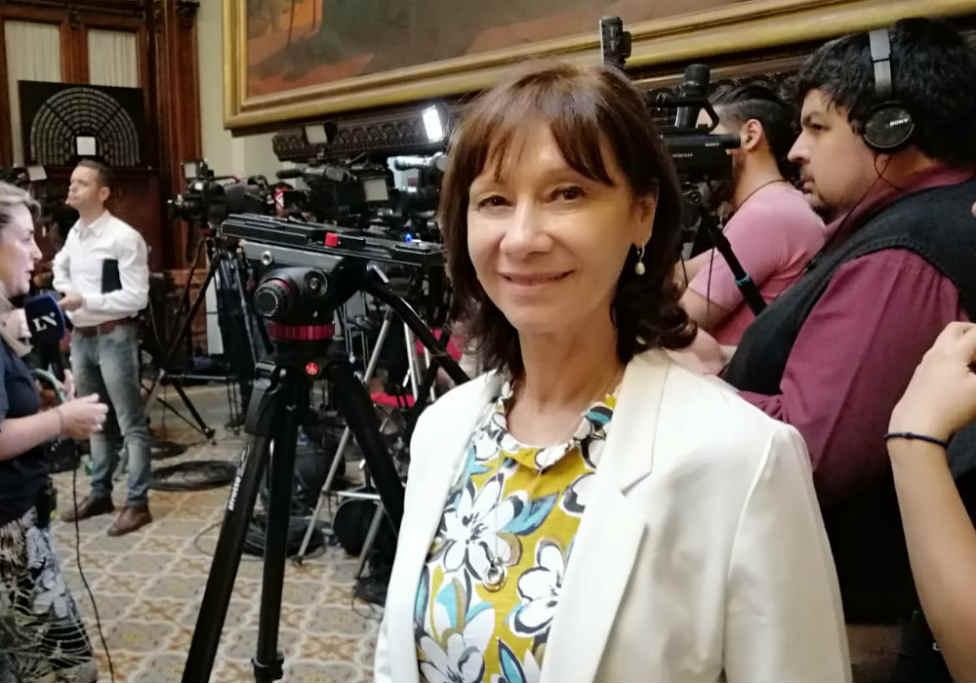 Alicia Aparicio visitó el Congreso Nacional previo a su asunción como Diputada