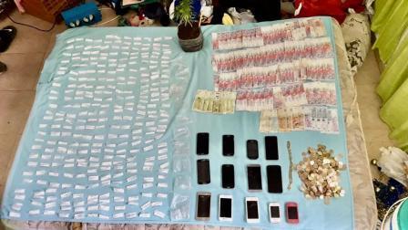 Desbaratan banda narco en Hurlingham: 16 detenidos, drogas, armas y motos secuestradas