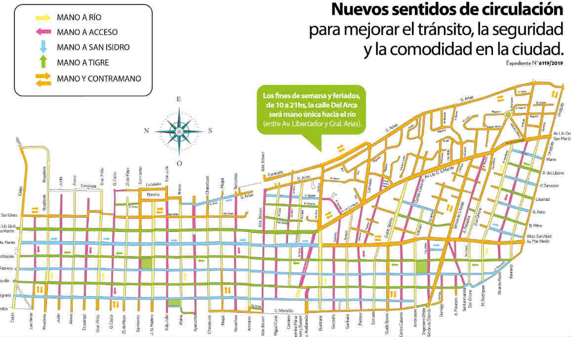 San Fernando realiza cambios en sus calles para mejorar la circulación y brindar más seguridad