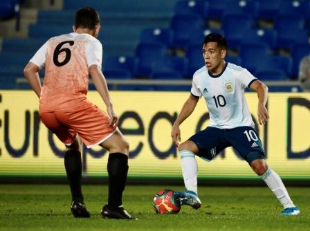 Argentina Sub 23 no tuvo piedad: goleó 14-0 a un combinado de Islas Canarias