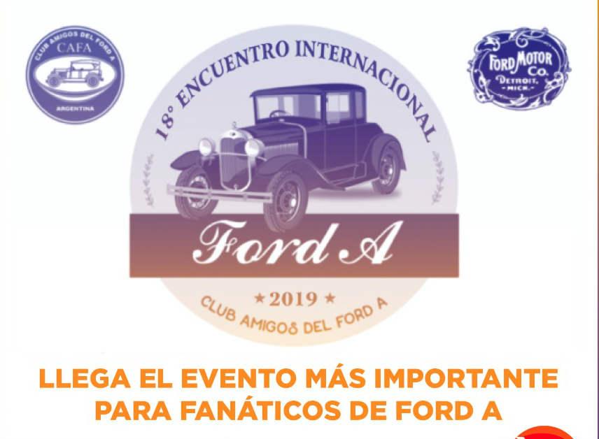 18 Encuentro Internacional del Ford A en Vicente López