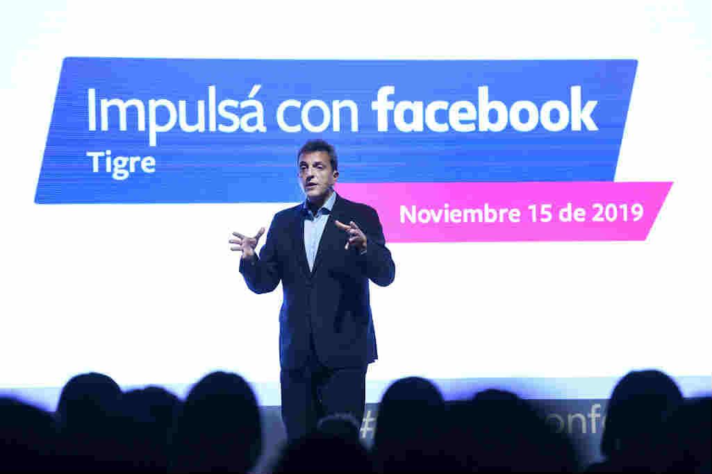 """Sergio Massa: """"La Argentina que se inicia en 25 días viene a ayudar al conocimiento y al talento, no a ponerle obstáculos"""""""