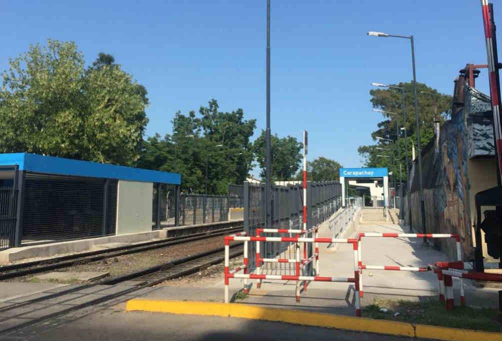 Se renovó la estación Carapachay del tren Belgrano Norte