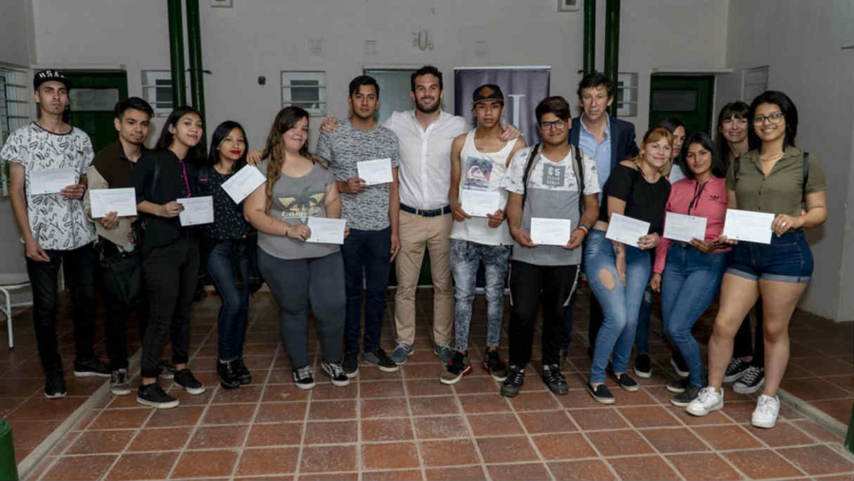 Finalizó una nueva edición del programa Empleo Jóven en San Isidro