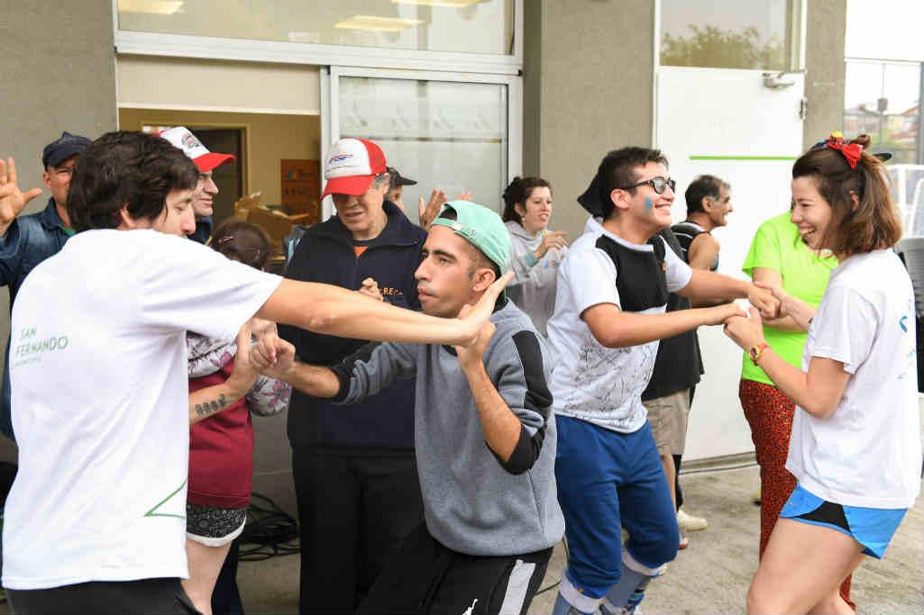 San Fernando fue sede de un encuentro regional para Personas con Discapacidad