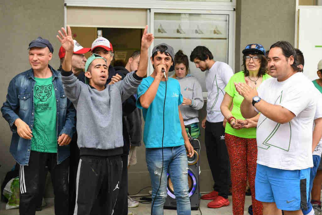 San Fernando fue sede de un encuentro regional recreativo para Personas con Discapacidad