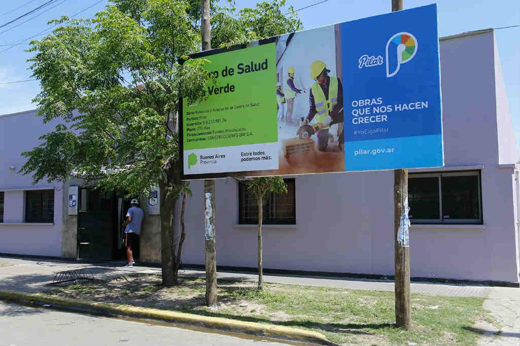Sigue la obra para sumar servicios al Centro de Salud de Villa Verde