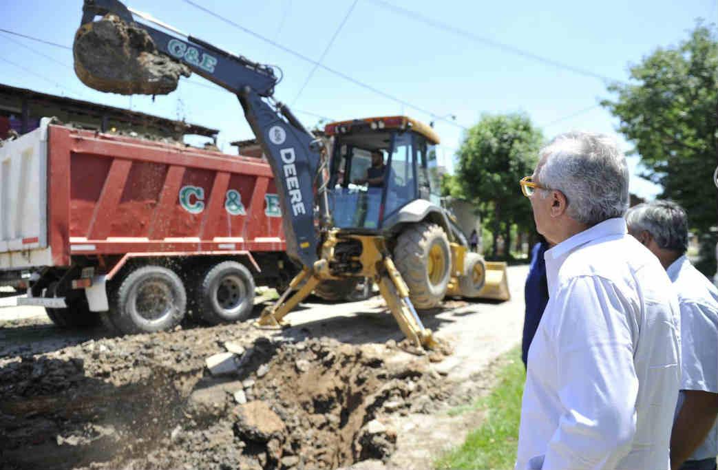 Con inversión municipal, avanzan nuevas obras en Don Torcuato